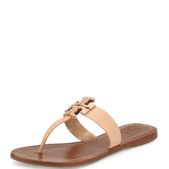 b00da606a Tory Burch Moore 2 Thong Sandal in Light Oak